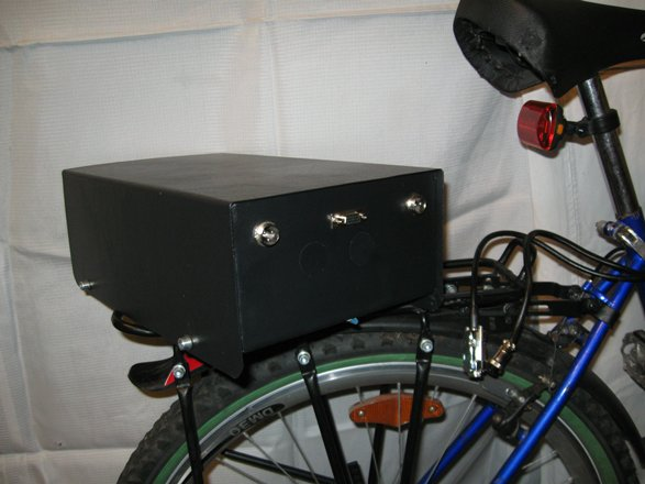 Ящик для велосипеда